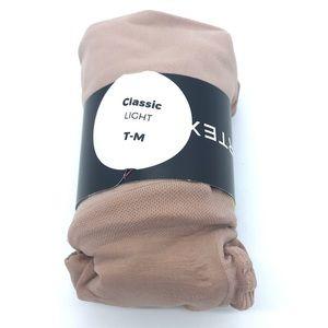 Sheertex Intimates & Sleepwear - NWT Sheertex classic light nude tights size T-M